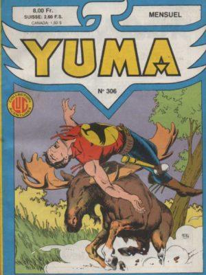 YUMA (1e Série) N°306 ZAGOR – La flèche à cinq plumes – LUG 1988