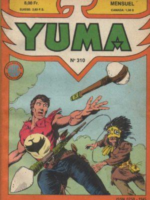 YUMA (1e Série) N°310 ZAGOR – L'enlèvement de Kee-Noah – LUG 1988