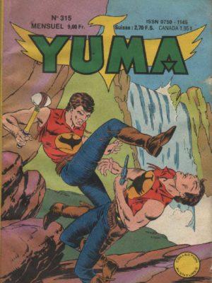 YUMA (1e Série) N°315 Zagor contre Zagor – LUG 1989