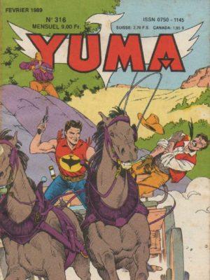 YUMA (1e Série) N°316 ZAGOR – Drame à Tilborough – LUG 1989