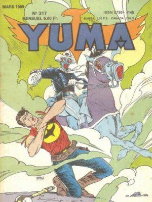 YUMA (1e Série) N°317 ZAGOR – L'héritage de Choc le Borgne – LUG 1989