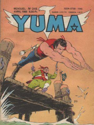 YUMA (1e Série) N°318 ZAGOR – L'invention de Verybad – LUG 1989