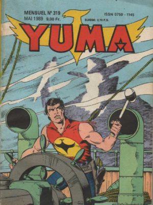 YUMA (1e Série) N°319 ZAGOR – Trailer contre River Patrol – LUG 1989