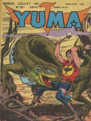 YUMA (1e Série) N°321 ZAGOR – Victoire – LUG 1989