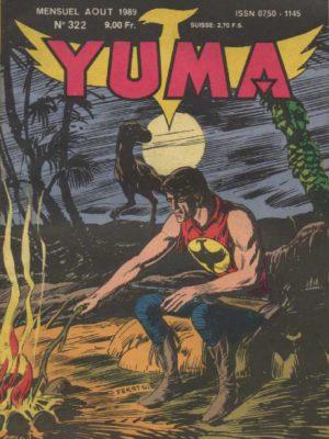 YUMA (1e Série) N°322 ZAGOR – Cauchemar – LUG 1989