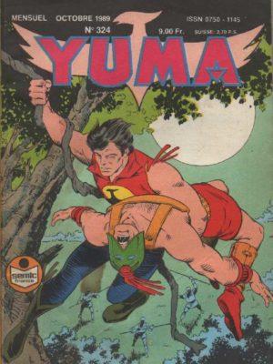 YUMA (1e Série) N°324 ZAGOR – Les disparus – LUG 1989