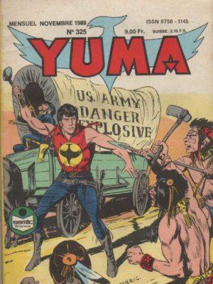 YUMA (1e Série) N°325 ZAGOR – La fin du Resplendissant – LUG 1989