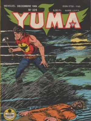 YUMA (1e Série) N°326 ZAGOR – Un traître au fort – LUG 1989