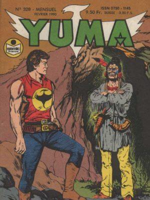 YUMA (1e Série) N°328 ZAGOR – Un siège tragique – LUG 1990