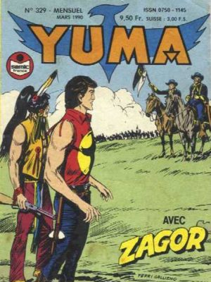 YUMA (1e Série) N°329 ZAGOR – Un siège tragique (2) LUG 1990