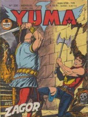 YUMA (1e Série) N°330 ZAGOR – La vallée de la peur (1) LUG 1990