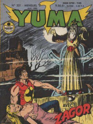 YUMA (1e Série) N°331 ZAGOR – La vallée de la peur (2) LUG 1990