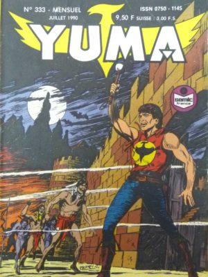 YUMA (1e Série) N°333 ZAGOR – Le complot (1) LUG 1990