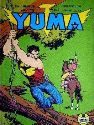 YUMA (1e Série) N°334 ZAGOR – Le complot (2) LUG 1990