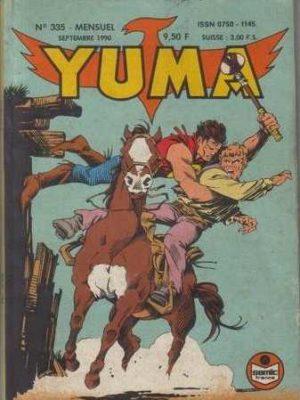 YUMA (1e Série) N°335 ZAGOR – Le complot (3) LUG 1990