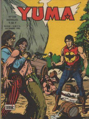 YUMA (1e Série) N°338 ZAGOR – Eau de feu (1) LUG 1990