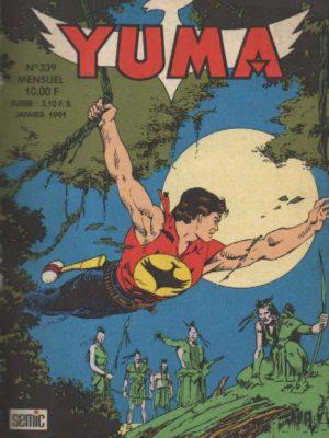 YUMA (1e Série) N°339 ZAGOR – Eau de feu (2) LUG 1991