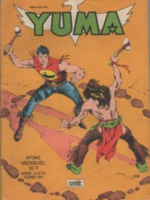 YUMA (1e Série) N°340 ZAGOR – Eau de feu (3) LUG 1991