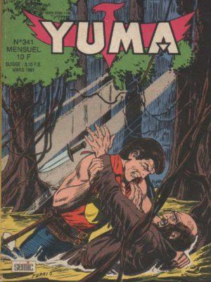 YUMA (1e Série) N°341 ZAGOR – Eau de feu (4) LUG 1991