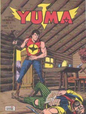 YUMA (1e Série) N°342 ZAGOR – Le secret de la carte – LUG 1991