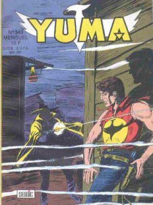 YUMA (1e Série) N°343 ZAGOR – Le secret de la carte (2e partie) LUG 1991
