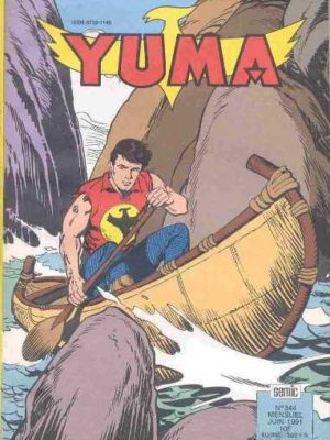 YUMA (1e Série) N°344 ZAGOR – Le secret de la carte (fin) LUG 1991