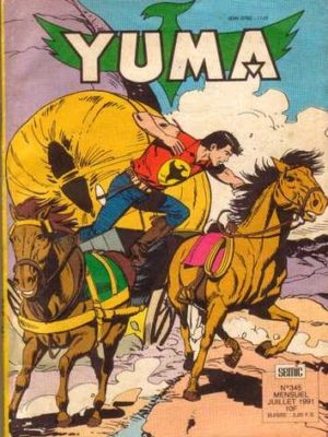 YUMA (1e Série) N°345 Zagor l'implacable – LUG 1991