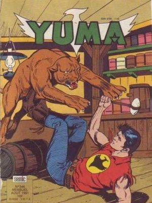 YUMA (1e Série) N°346 Zagor l'implacable (2e partie) LUG 1991