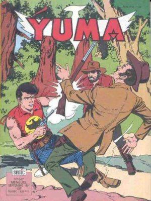 YUMA (1e Série) N°347 Zagor l'implacable (3e partie) LUG 1991