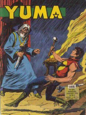 YUMA (1e Série) N°351 ZAGOR – Obscurs présages (3e partie) LUG 1992