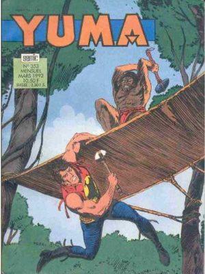 YUMA (1e Série) N°353 ZAGOR – L'invention du siècle (2e partie) LUG 1992