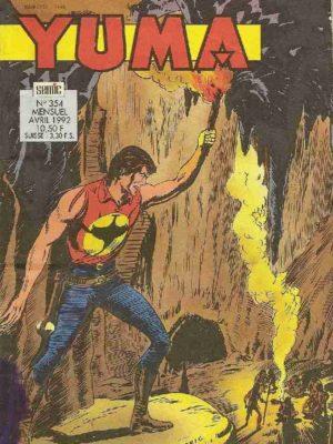 YUMA (1e Série) N°354 ZAGOR – L'invention du siècle (3e partie) LUG 1992