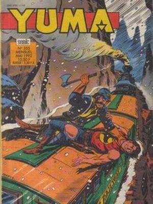 YUMA (1e Série) N°355 Zagor – L'enfer blanc (1e partie) LUG 1992