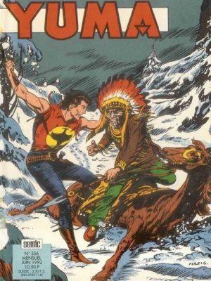 YUMA (1e Série) N°356 Zagor – L'enfer blanc (2e partie) LUG 1992
