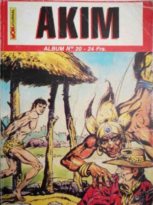 AKIM (2e série) ALBUM 20 (N°58-59-60) MON JOURNAL 1999