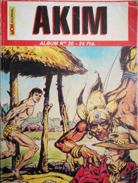 AKIM (2e série) ALBUM 20 (N°58-59-60)