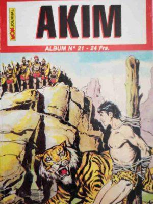 AKIM (2e série) ALBUM 21 (N°61-62-63) MON JOURNAL 1999