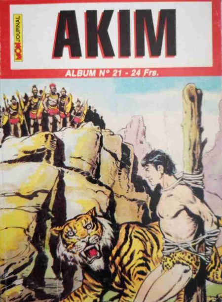 AKIM (2e série) ALBUM 21 (N°61-62-63)