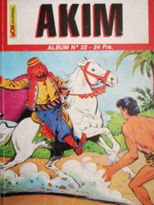 AKIM (2e série) ALBUM 22 (N°64-65-66) MON JOURNAL 1999