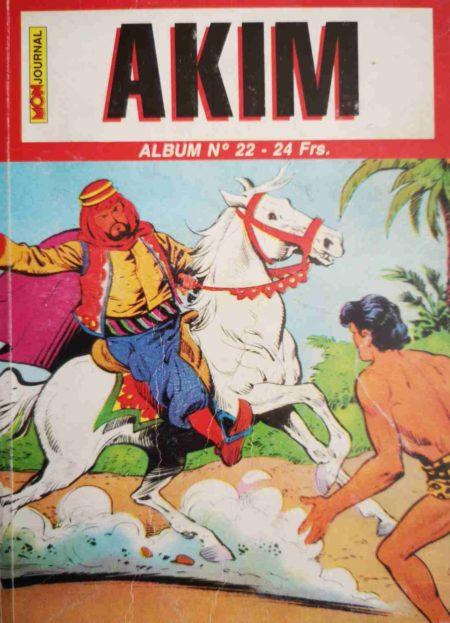 AKIM (2e série) ALBUM 22 (N°64-65-66)