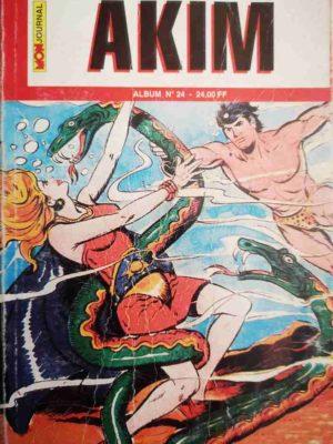 AKIM (2e série) ALBUM 24 (N°70-71-72) MON JOURNAL 2000