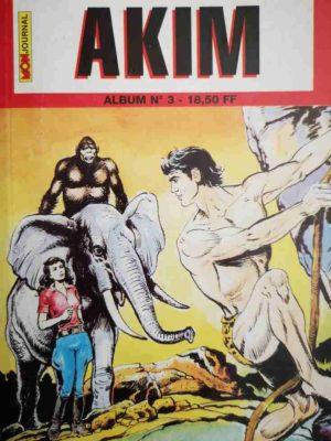 AKIM (2e série) ALBUM 3 (N°7-8-9) MON JOURNAL 1994