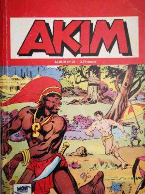 AKIM (2e série) ALBUM 33 (N°97-98-99) MON JOURNAL 2002