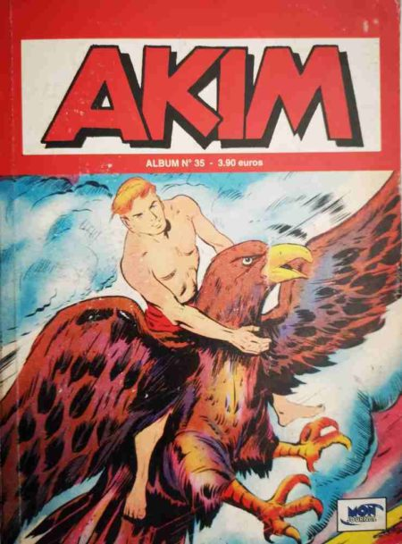 AKIM (2e série) ALBUM 35 (N°103-104-105)