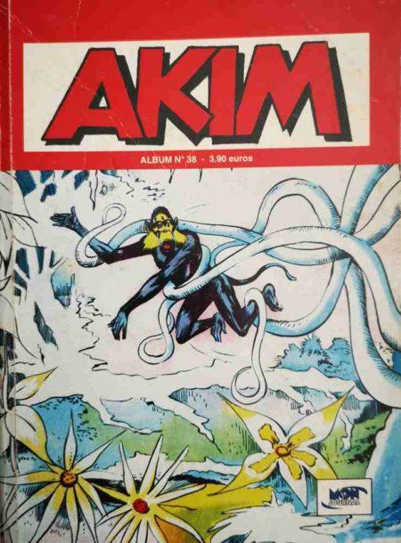 AKIM (2e série) ALBUM 38 (N°112-113-114)