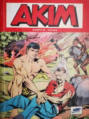 AKIM (2e série) ALBUM 39 (N°115-116-117) MON JOURNAL 2003