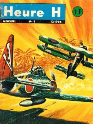 HEURE H N°9 Tonnerre sur l'atoll – Editions Bonjour 1966