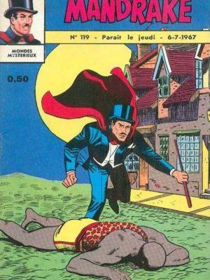 MANDRAKE N°119 La sorcière du village – Remparts 1967