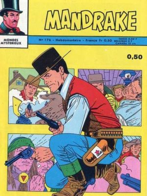 MANDRAKE N°176 L'homme orang-outang – Remparts 1968