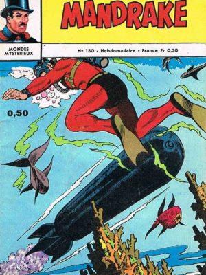 MANDRAKE N°180 Le royaume des sorciers – Remparts 1968